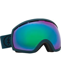 Electric EG2 Goggles Dark Seas/Bronze/Green Chrome And Bonus Lens