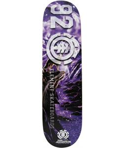 Element 92 Mountain Wolf Skateboard Deck