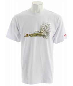 Element Beaver Tree T-Shirt White
