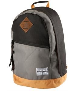 Element Camden Backpack Black/Military Green