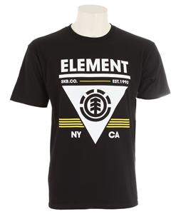 Element Coverage T-Shirt Black