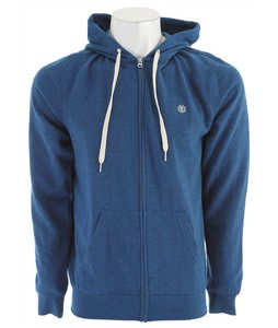 Element Cornell 3 Zip Hoodie Royal
