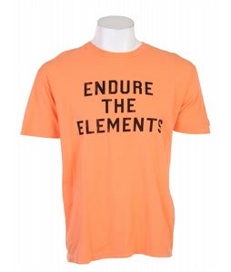 Element Endure T-Shirt Orange