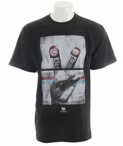 Element Fingers T-Shirt Black
