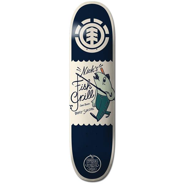 Element Garcia Fish Grill Skateboard Deck