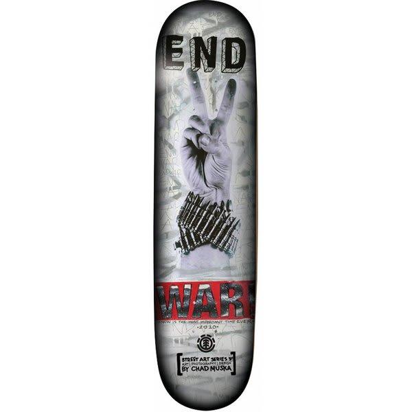 Element Muska War Skateboard Deck