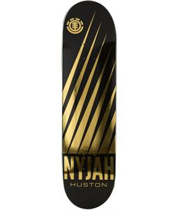 Element Nyjah Gold Tape Skateboard Deck