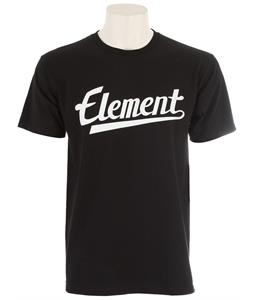 Element Script T-Shirt Black