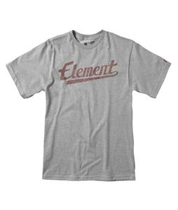 Element Script T-Shirt Grey Heather