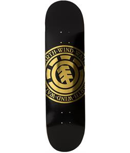 Element Seal Gold Skateboard Deck