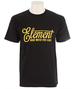 Element Twist T-Shirt Black