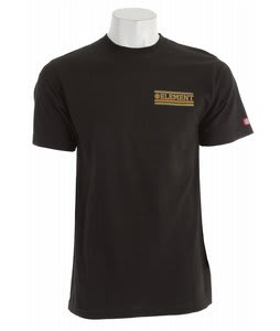 Element Unity T-Shirt Black