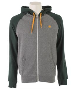 Element Vermont Zip Hoodie Dark Juniper