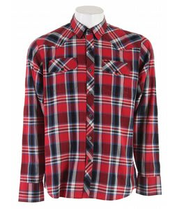 Element Weyburn L/S Shirt Red