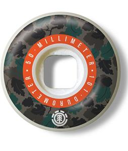 Element Wine Leaf Camo Skateboard Wheels