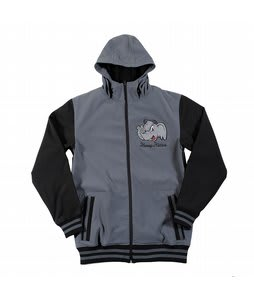 Neff Elephante Softshell Jacket Charcoal