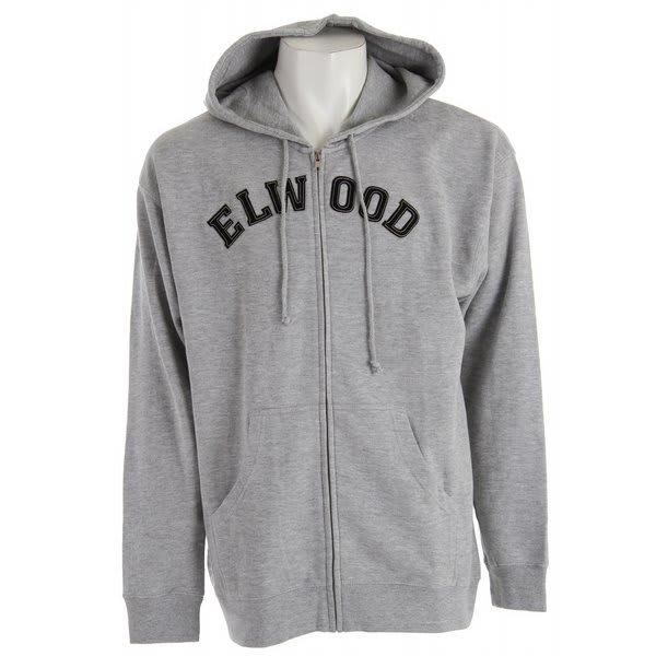 Elwood College Zipup Hoodie
