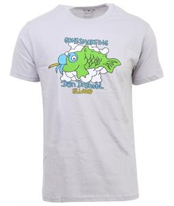 Elwood Dan Gone Fishin' T-Shirt Silver