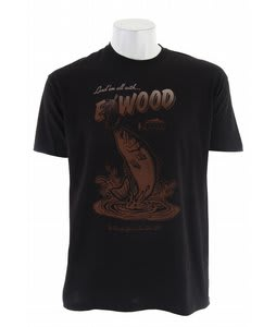 Elwood Silas Angler T-Shirt Black