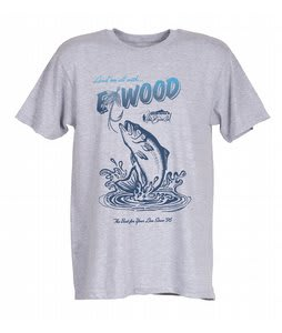 Elwood Silas Angler T-Shirt Heather Grey