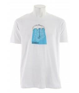 Elwood Umbrella T-Shirt White