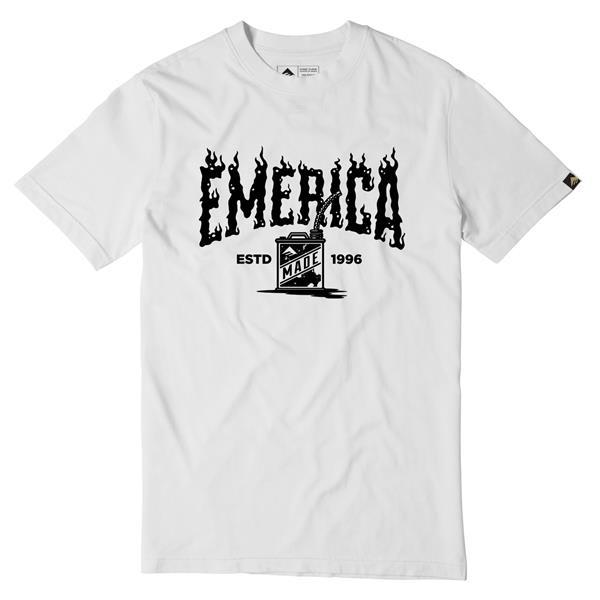 Emerica Gas Can Flame Logo T-Shirt