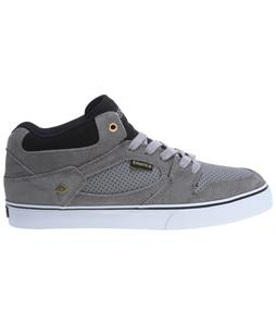 Emerica Hsu Skate Shoes Grey/Grey/Black