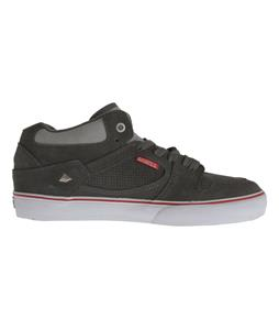 Emerica Hsu Skate Shoes Dark Grey/Grey/Red