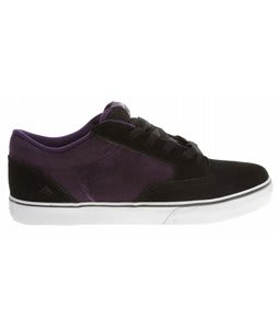 Emerica Jinx Shoes Black/Purple