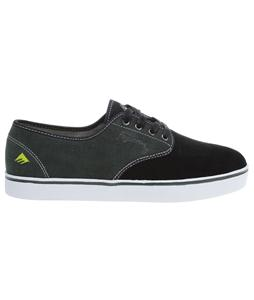 Emerica Laced X Baker X Figueroa Skate Shoes Black/Green/White