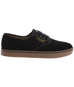 Emerica Laced X Toy Machine X Figueroa Skate Shoes Black/Yellow