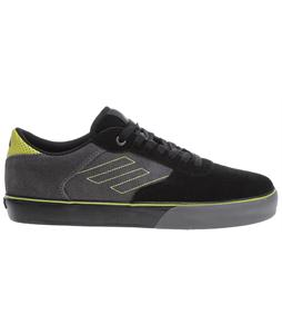 Emerica Liverpool Skate Shoes Black/Lime