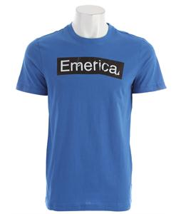 Emerica Pure Sticker T-Shirt Blue