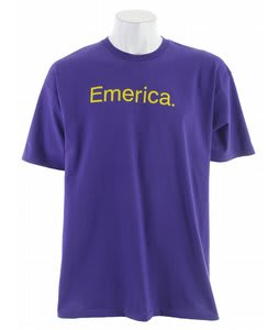 Emerica Pure 7.0 T-Shirt Deep Purple