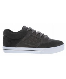 Emerica Reynolds 3 Skate Shoes Grey/Black/Gum