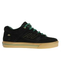 Emerica Reynolds 3 Shake Junt Skate Shoes Black/Green/Gold