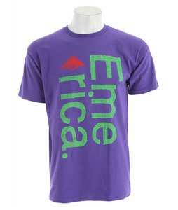 Emerica Scratch T-Shirt Purple