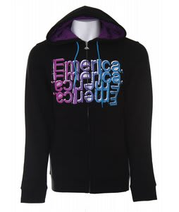 Emerica Simon Zip Hoodie Black