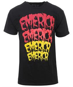 Emerica Splat T-Shirt Black