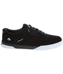 Emerica The Herman G6 Skate Shoes Black/White