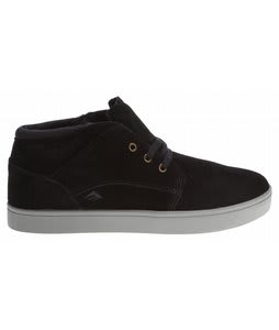 Emerica The Situation Skate Shoes Black/Grey