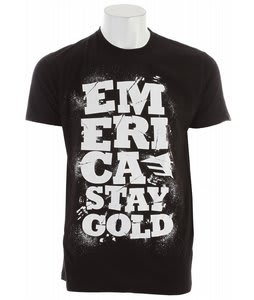 Emerica Three Day Weekend T-Shirt Black