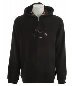 Emerica Triangle Fill Zip Hoodie Black