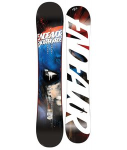 Endeavor Live Reverse Snowboard 153