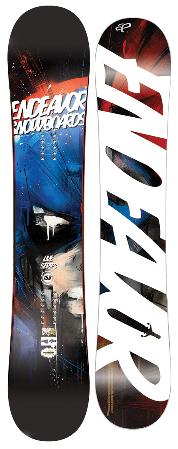 Shop for Endeavor Live Reverse Snowboard 153 - Men's