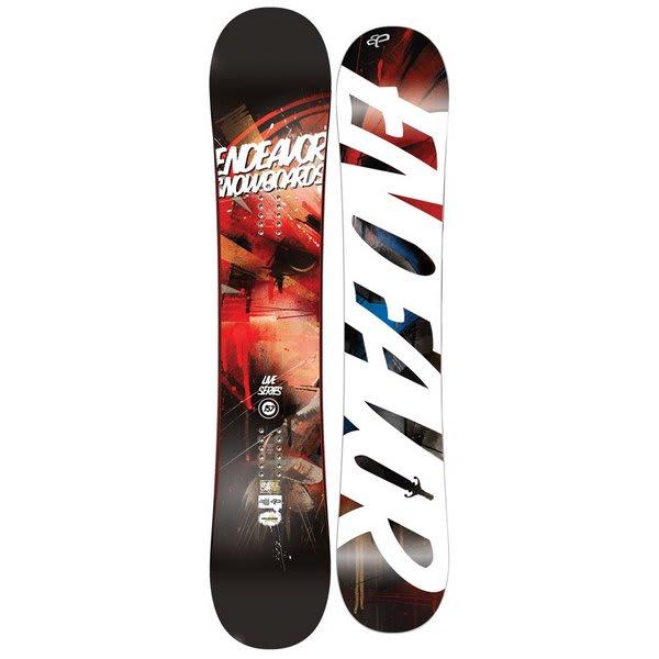 Endeavor Live Reverse Wide Snowboard