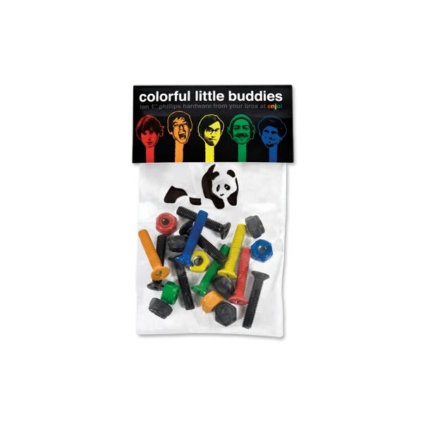 Enjoi Little Buddies Phillips Skateboard Hardware 7/8