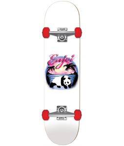 Enjoi Airbrush Panda Soft Wheel Skateboard Complete