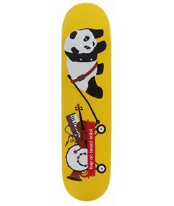 Enjoi Bandwagon R7 Skateboard Yellow