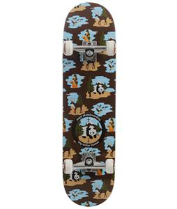 Enjoi Big Dollar Hunter V2 Skateboard Complete Brown
